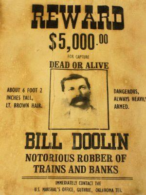From Black Jail to Samaritan Cult House - Bill Doolin Wanted