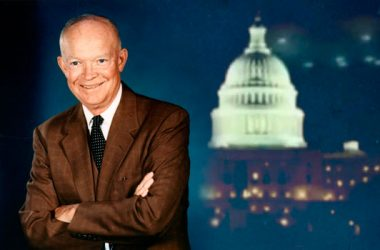 President Dwight Eisenhower sign The 1954 Greada Treaty with aliens