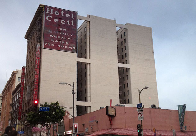 Ghosts, Murders and Suicides From Cecil Hotel to Stay On Main Hotel