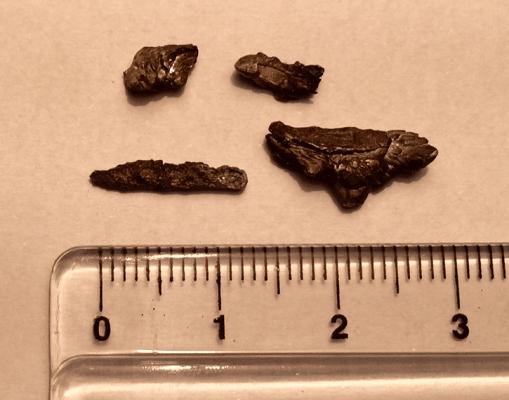 Metal Fragments from the Ubatuba UFO Crash